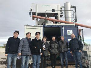 Expedición del Ministerio de Agricultura de Corea del Sur visita Planta Piloto